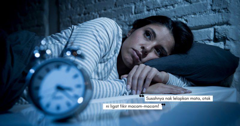 Susah Tidur Malam Punca DEPRESI, Betul Ke?