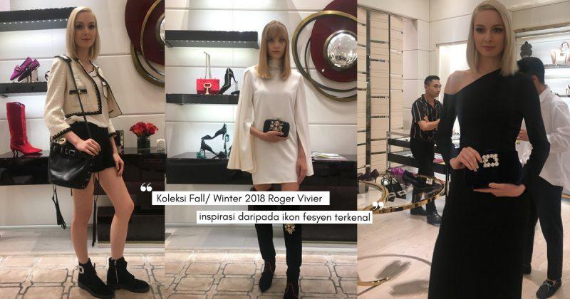 Seakan Berada Di Dunia Fantasi Fesyen, ROGER VIVIER Pamer Koleksi Mewah