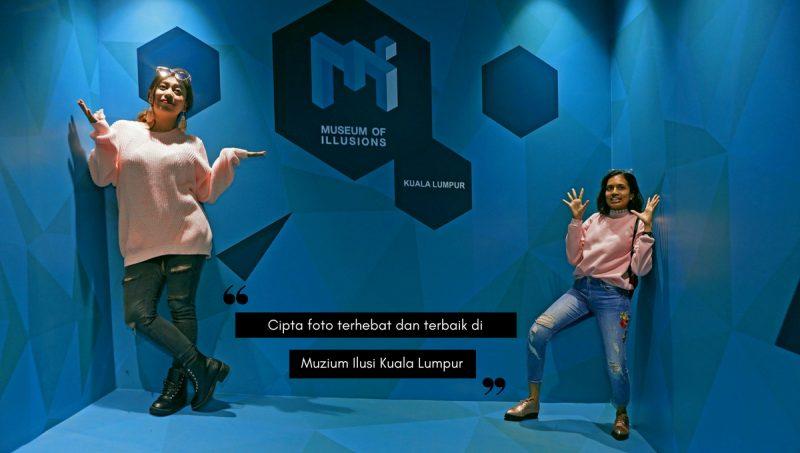 Menariknya! Jom Berpesta Foto di Muzium Ilusi Pertama di Kuala Lumpur
