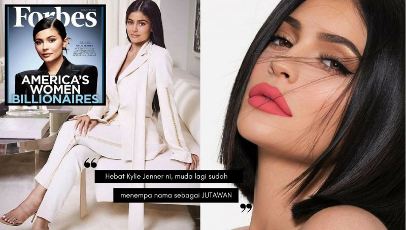Cantik, MUDA Dan Bergelar JUTAWAN,  Kylie Jenner Suntik Inspirasi Generasi Muda