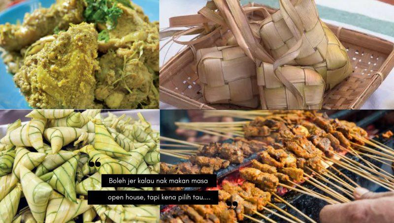 Tetap Tampil Langsing Walau Makan Banyak Ketika Open House