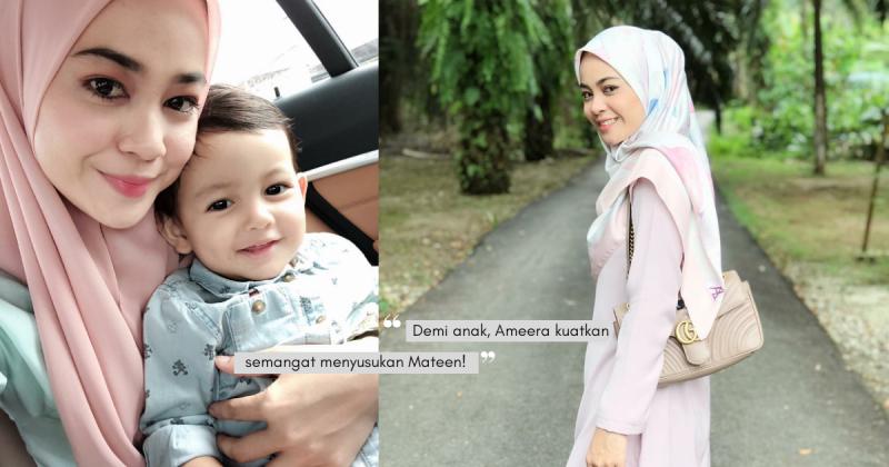 Menangis Dari Petang Sampai Tengah Malam Sebab Tiada Susu Badan, AMEERA ZAINI Kongsi Pengalaman 'Breastfeeding'!