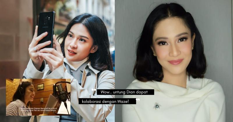 Wow, Suara 'Waze' DIAN SASTROWARDOYO Sempena Sukan Asia 2018!