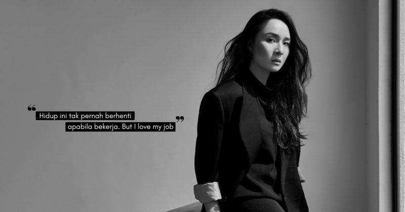 """""""Banyak Tekanan, But I Still Love My Job…""""- Kerjaya Pereka Fesyen Bukan Mudah, EZZATI AMIRA Tak Putus Harapan!"""