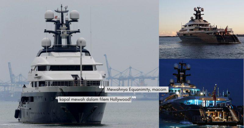 Bernilai RM1Bilion, Ini Info Menarik Tentang Kapal Persiaran EQUANIMITY!