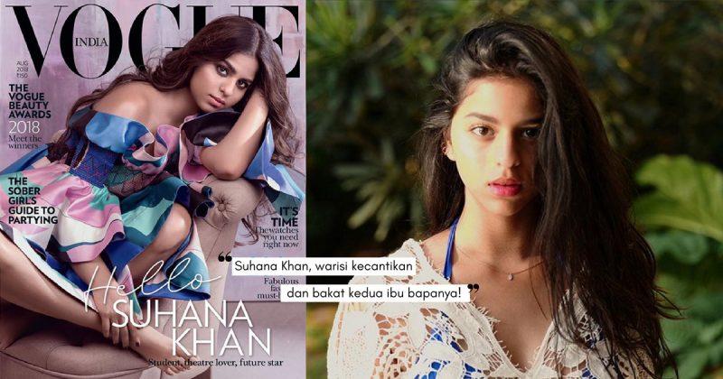 Baru 18 Tahun, Anak Gadis SHAH RUKH KHAN Dah Jadi Cover Majalah Vogue India!