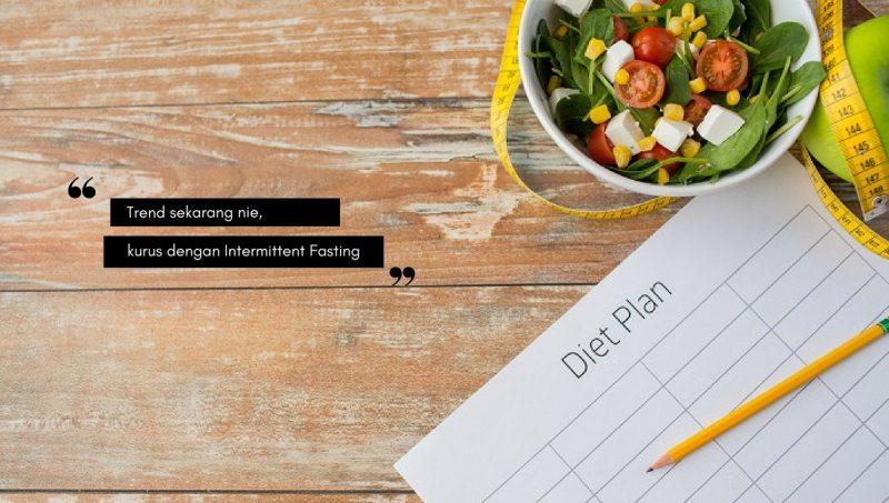 Kurus Cepat Dengan Intermittent Fasting