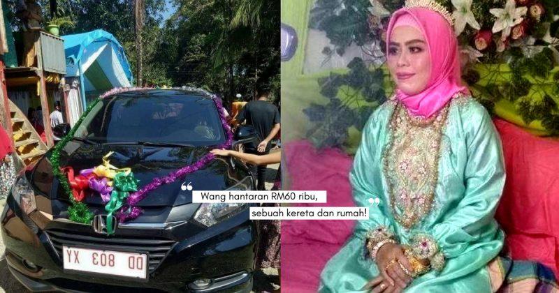 Wanita 30 Tahun Nikah Lelaki 70 Tahun, HANTARAN Sebuah Rumah, Kereta Honda, Barang Kemas dan Cash Rp200 Juta!
