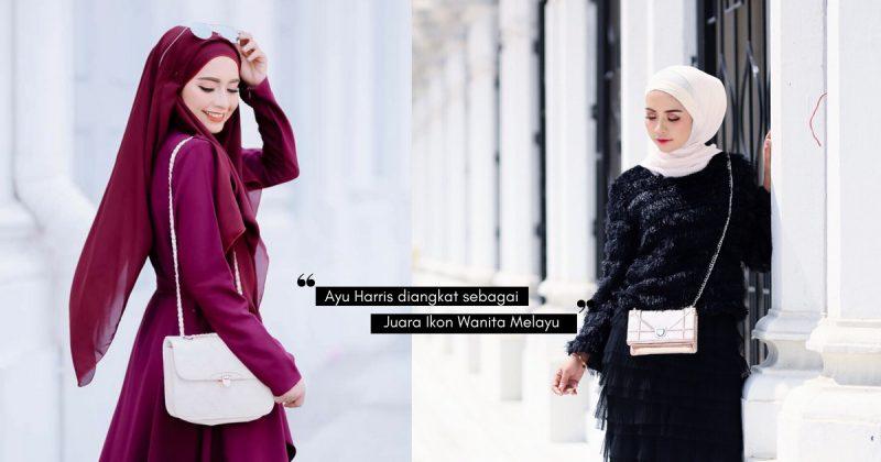 Fesyen Wanita Arab Jadi Inspirasi Insta Famous AYU HARRIS, Patut Lah Cantik!