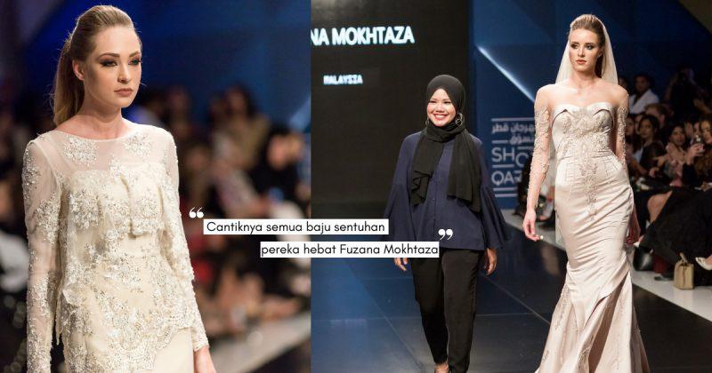 Mula Menjahit Umur 15 Tahun, Kini FUZANA MOKHTAZA Setaraf Pereka Fesyen Terkenal Luar Negara!