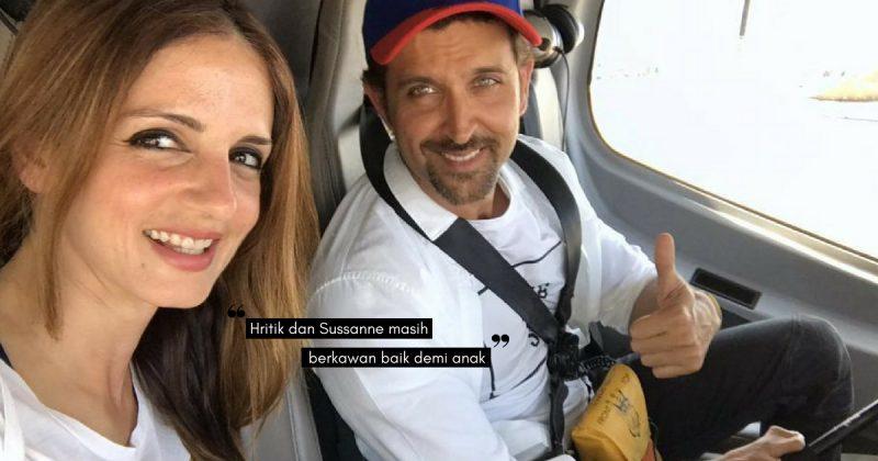 Peminat Mahu HRITHIK ROSHAN & Bekas Isteri Kembali Bersama Selepas 5 Tahun Bercerai!