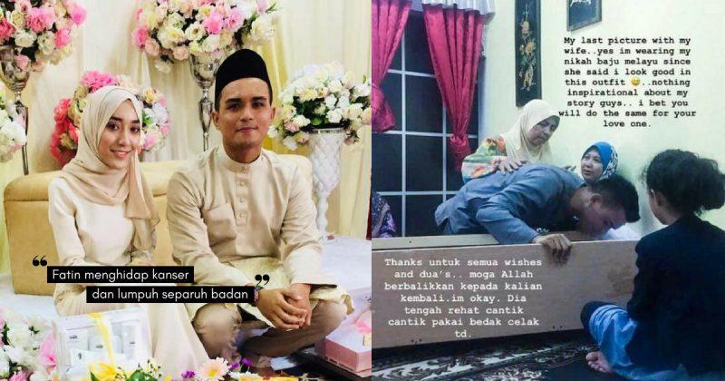 Pakai Baju Melayu Sama Ketika NIKAH & Kali Terakhir Cium Dahi Isteri Selepas DIKAFANKAN