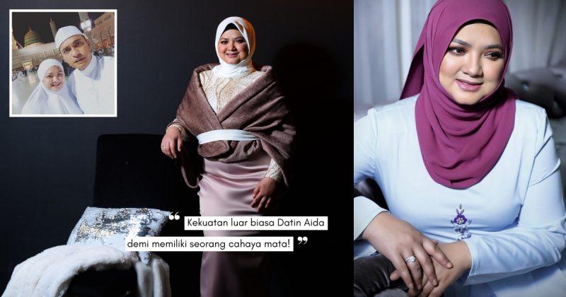 4 Kali IVF, Hamil Kembar & Triplet … Tapi DATIN AIDA YUSOF Belum Ada Rezeki Anak!