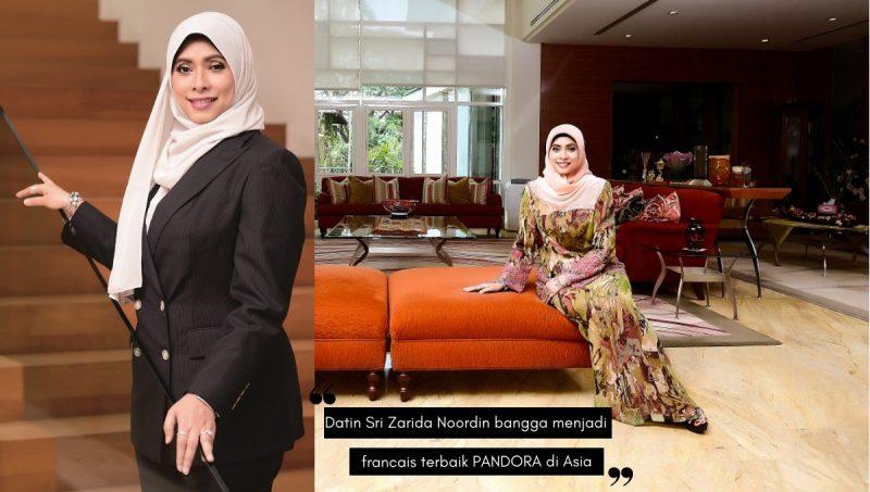 DATIN SRI ZARIDA NOORDIN wanita di sebalik jenama PANDORA Malaysia