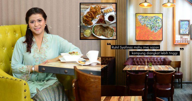 Kafe Bunga Lawang Milik RUHIL SYAFINAZ, Mengangkat Resipi Nenek Moyang!