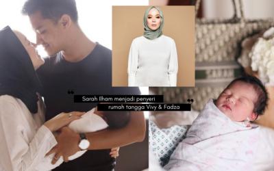 Si Comel Sarah Ilham Shah Baru Tiga Hari, VIVY YUSOF Nak Anak Lagi!