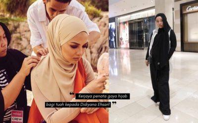 Popular Di Kalangan Selebriti Berhijab, DIDIYANA EHSAN Ikon Hijab Stylist Berjaya!