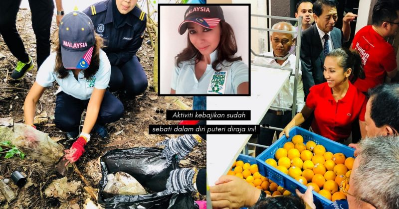Sebati Dengan Dunia Kebajikan, TENGKU ZATASHAH Turun Padang Bersihkan Pantai & Agih Bantuan Makanan!