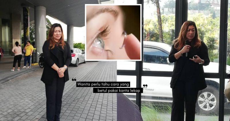 Mata Wanita Hamil Lebih Sensitif, PROF DR HALIZA MUTALIB Minta Hati-Hati Pakai Kanta Lekap!