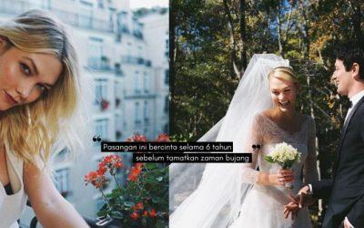 Supermodel KARLIE KLOSS Kahwin, Cantiknya Gaun Perkahwinan Rekaan Jenama Terkenal DIOR!
