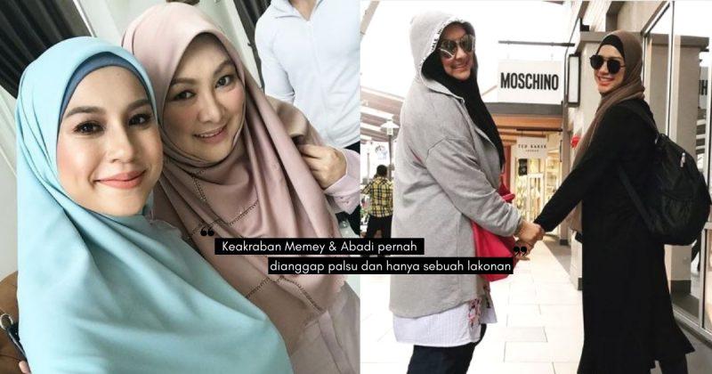 """""""Kalau Sayang Suami Pakai Tudung""""- Nasihat ABBY ABADI Segar Di Ingatan MEMEY SUHAIZA!"""