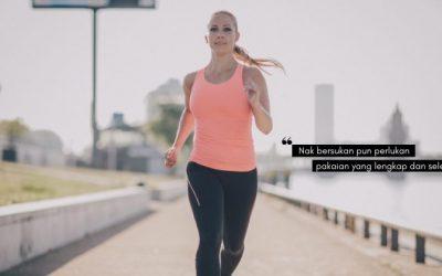 Pilih Pakaian Selesa Untuk Wanita AKTIF BERSUKAN, Sports Bra Beri Sokongan Pada Bahagian Dada!